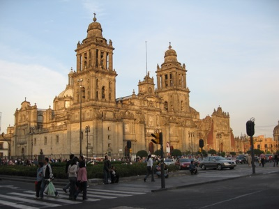Mexico City Cathedral in Mexico City, Mexico